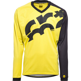Mavic CrossMax Jersey Lang Heren, yellow mavic/black